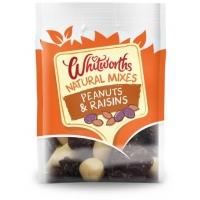 Image of Whitworths Natural Mixes Peanuts and Raisins 250g