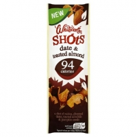 Image of Whitworths Shots Date And Toasted Almond 25g