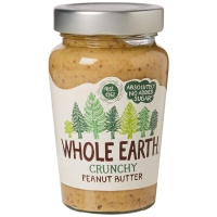 Image of TODAY ONLY Whole Earth Crunchy Peanut Butter 340g