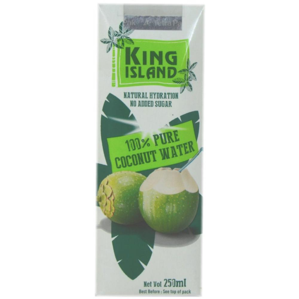 King Island 100 Percent Coconut Water 250ml