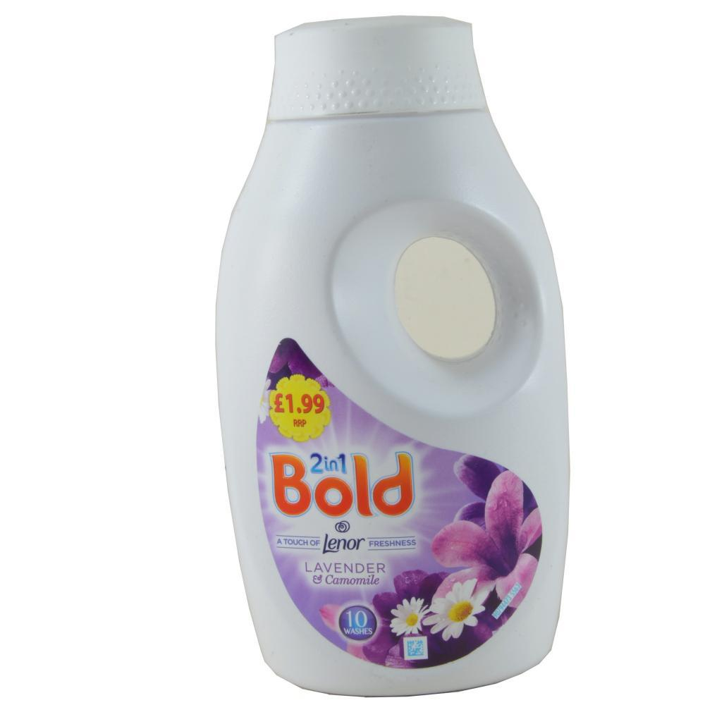 Bold 2 In 1 Liquid Lavender and Camomile 10 Washes 500ml