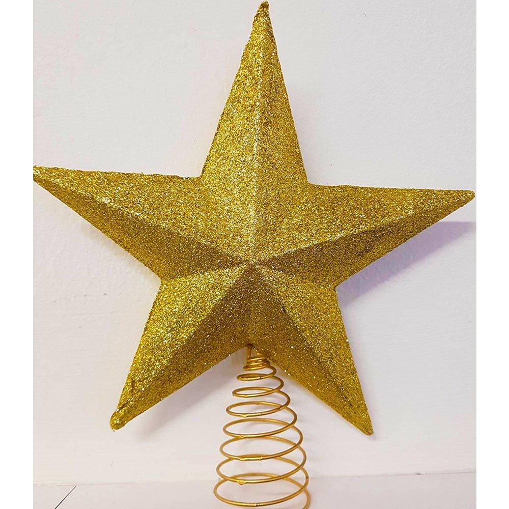 Theme Machine 3D Star Tree Top Gold