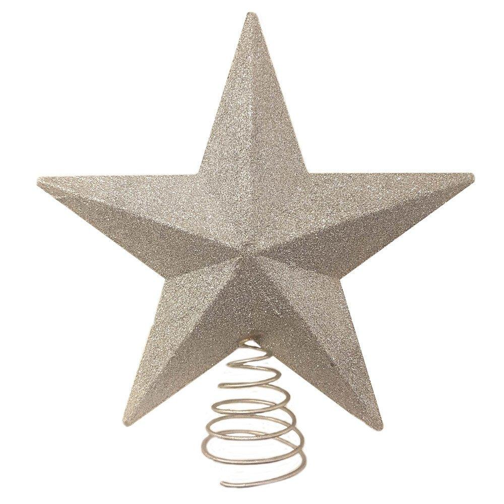 Theme Machine 3D Star Tree Top Silver