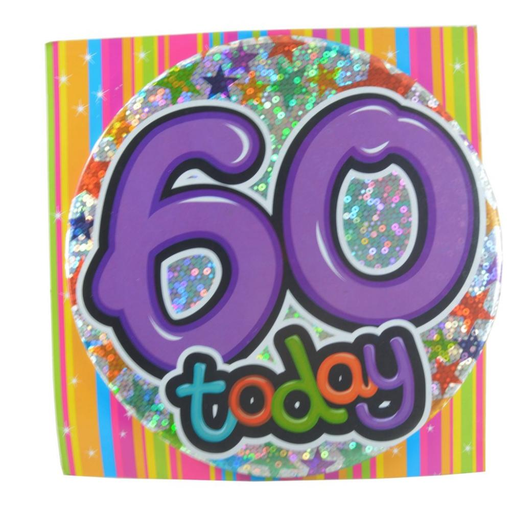 Large Badge 60 Today