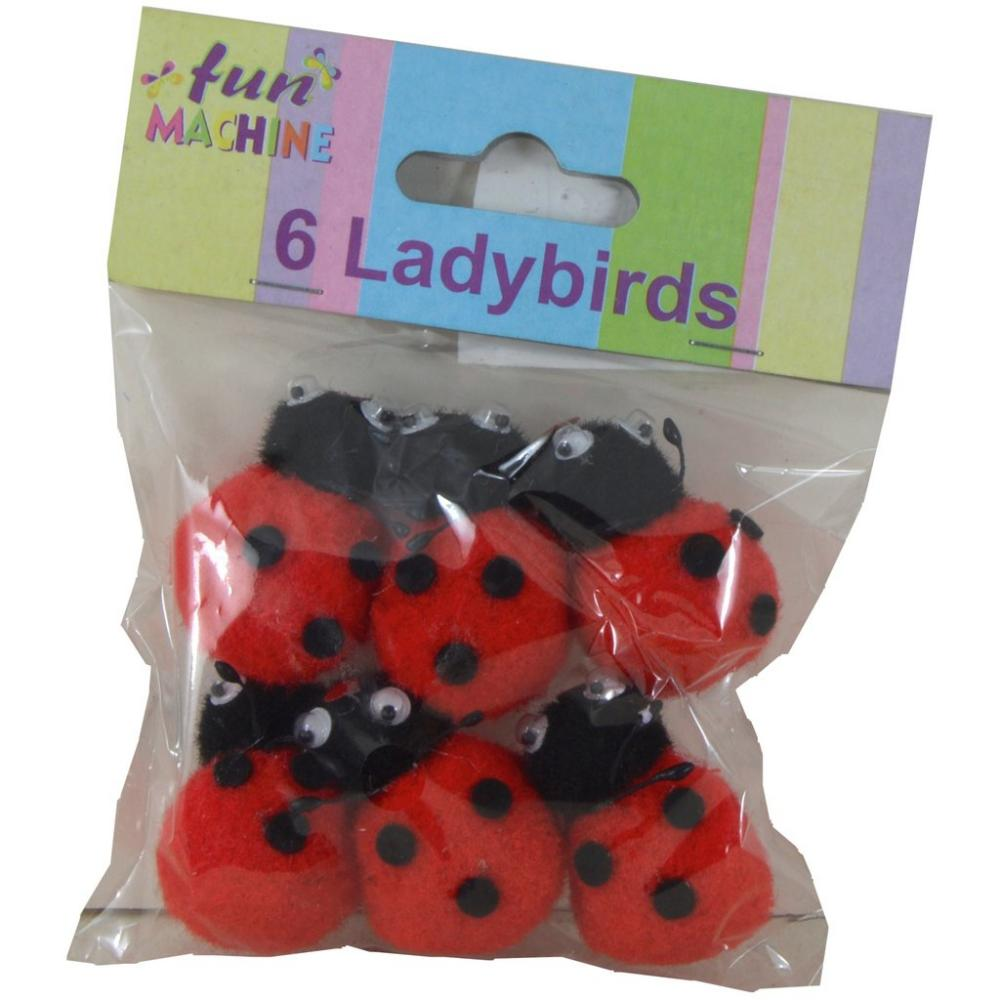 Fun Machine 6 Ladybirds