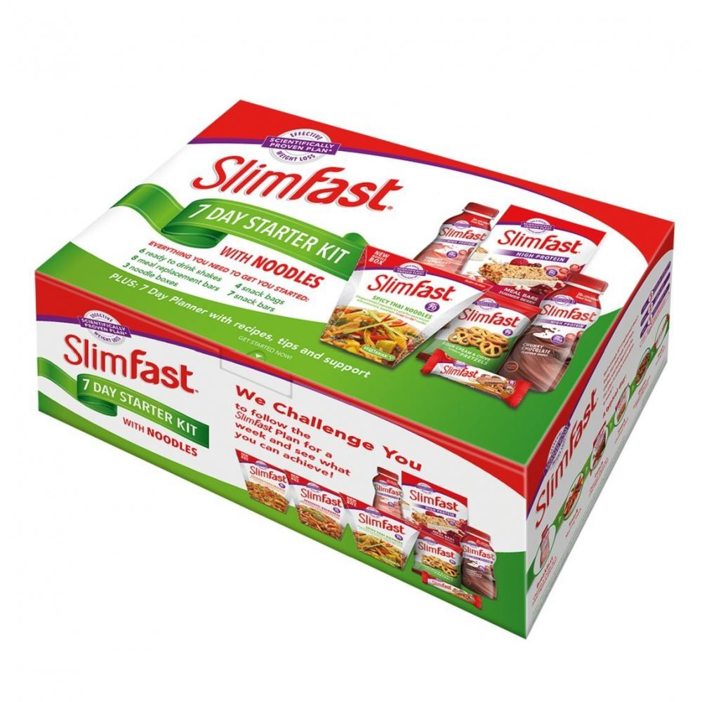 Slim fast Slim fast Slim fast Slim fast  Slim fast 7 Day Starter Kit with Noodles