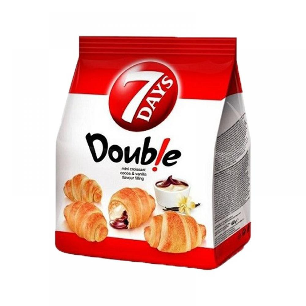 7 Days Mini Croissants Double Cocoa and Vanilla 185g