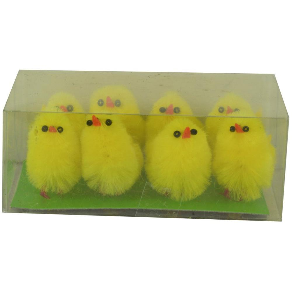 Fun Machine 8 Yellow Chicks 35 cm
