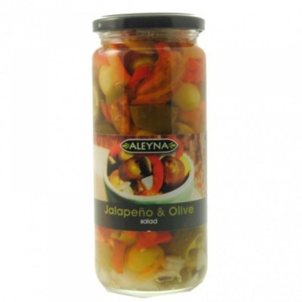 Aleyna Jalapeno and Olive Salad 480g