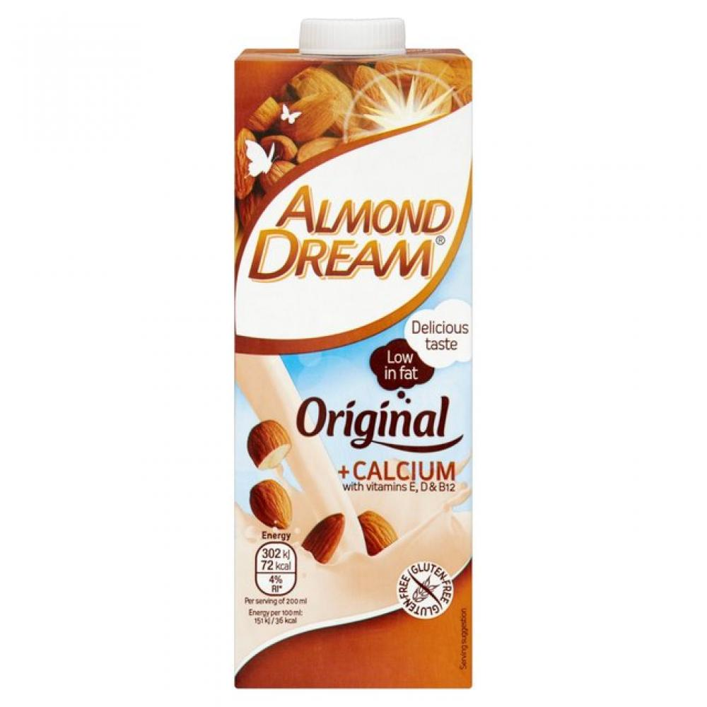 calcium drink almond dream litre enriched tesco food drinks groceries shopping