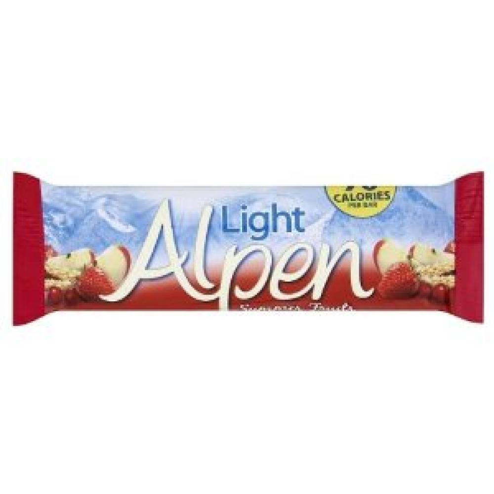 Alpen light summer fruits bar 21g approved food alpen light summer fruits bar 21g aloadofball