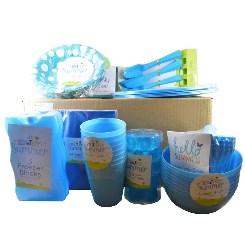 Approved Food BBQ Picnic Box BLUE