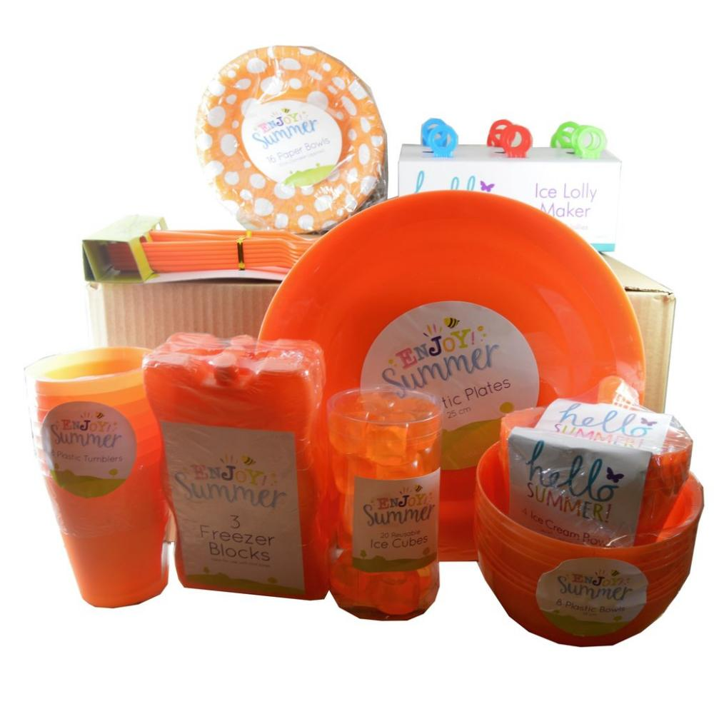 Approved Food BBQ Picnic Box ORANGE