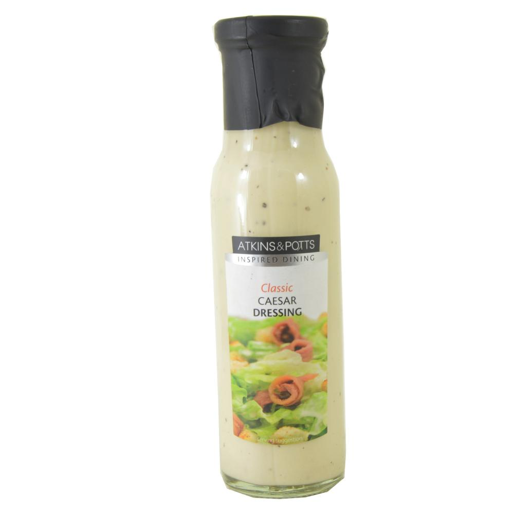 Atkins and Potts Classic Caesar Dressing 220g