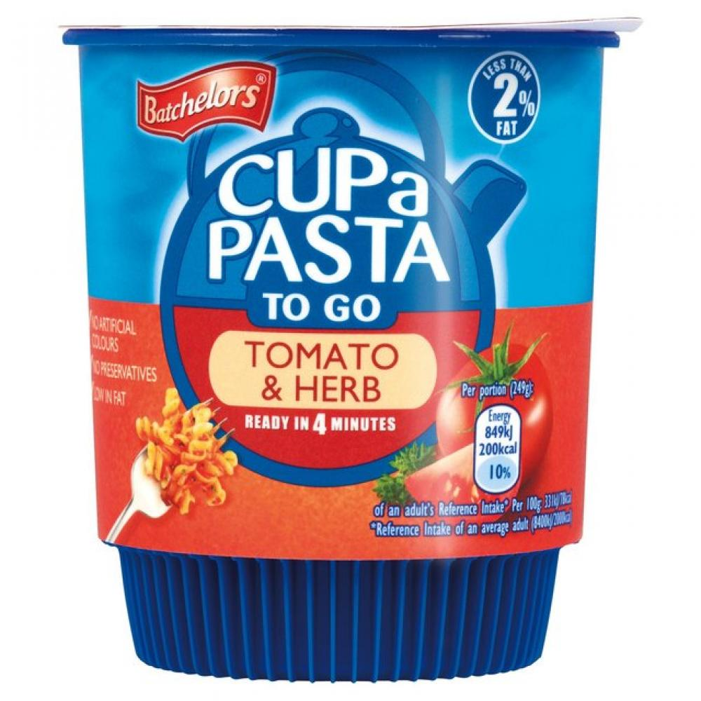 Batchelors Cup a Pasta To Go Tomato and Herb 49g