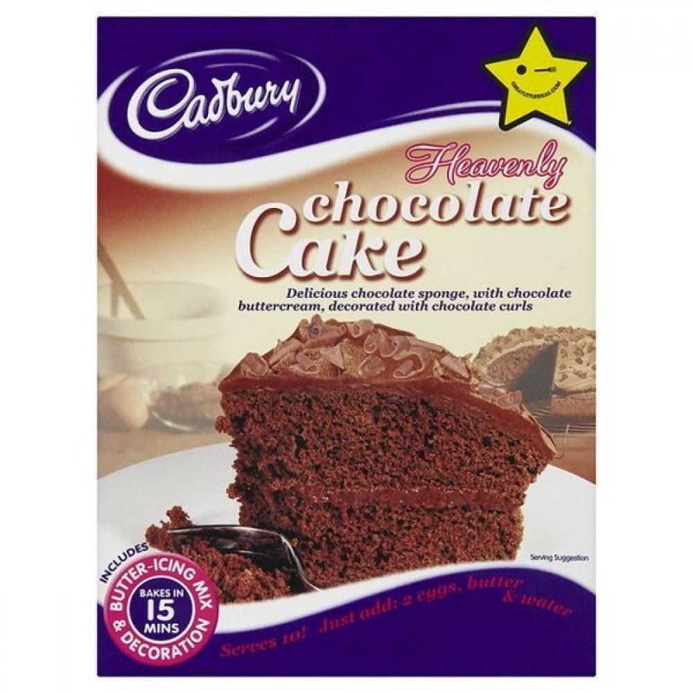 Cadbury Chocolate Cake Images : Cadbury Heavenly Chocolate Cake Mix 561g Approved Food