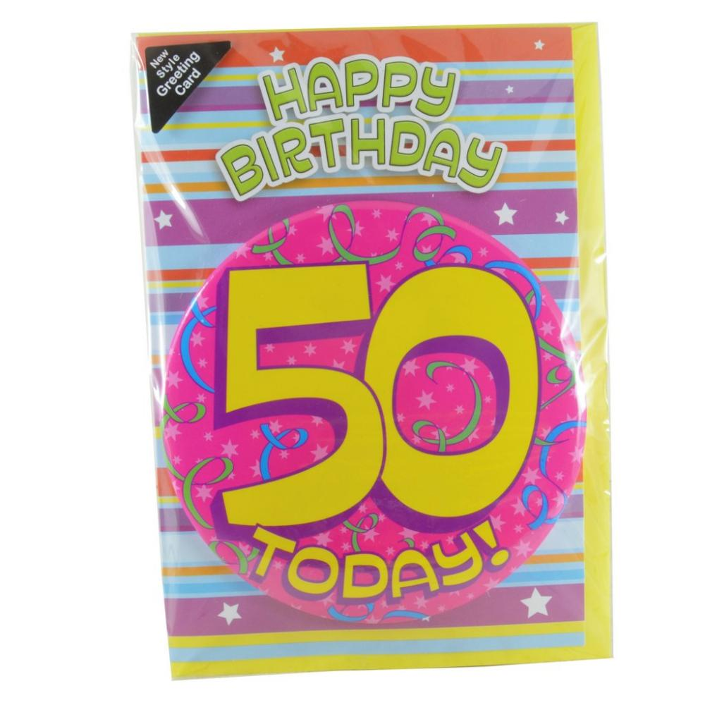 Badgetastic Card And Badge 50 Today