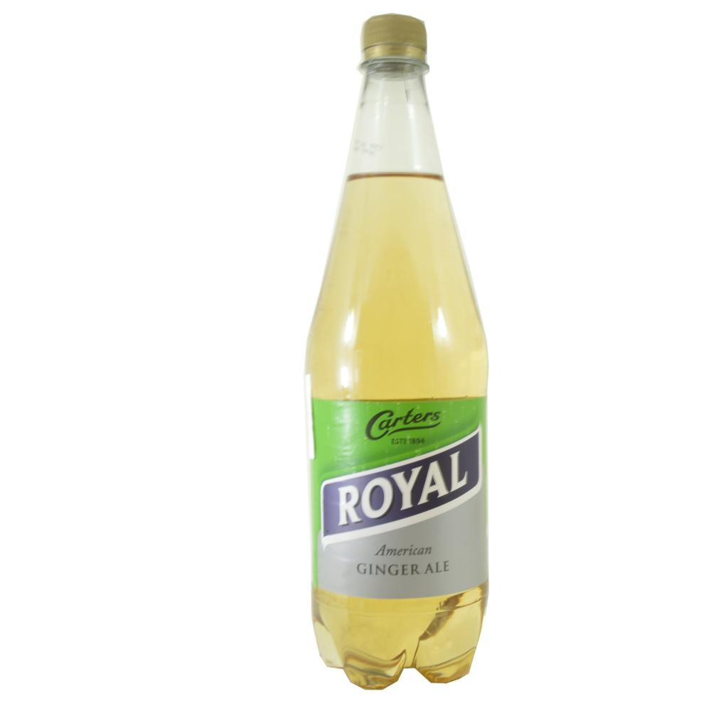 Carters Royal American Ginger Ale 1 Litre