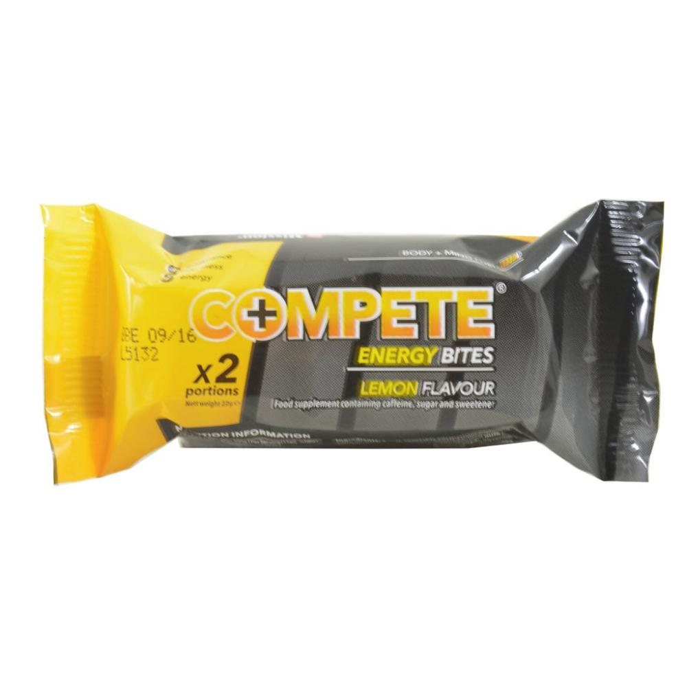 Compete Energy Bites Lemon Flavour 2 Pack
