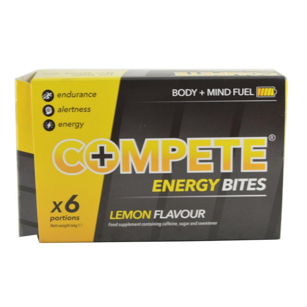 Compete Energy Bites Lemon Flavour 6 Portions