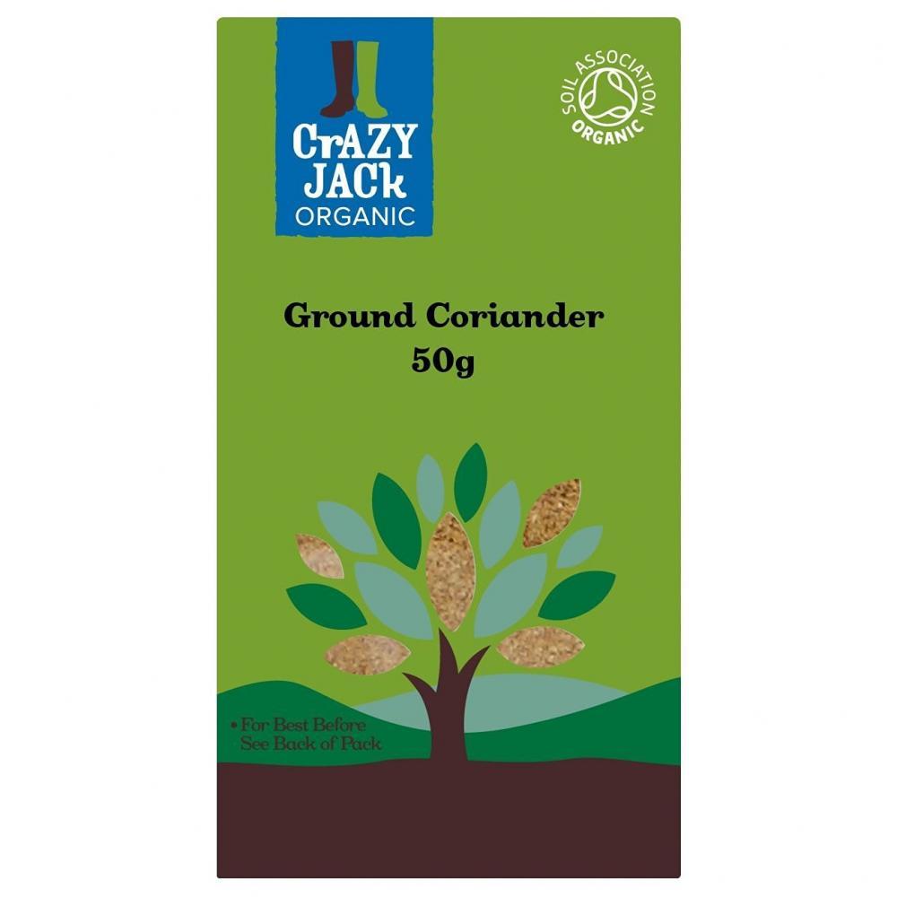 Crazy Jack Organic Organic Ground Coriander 50g