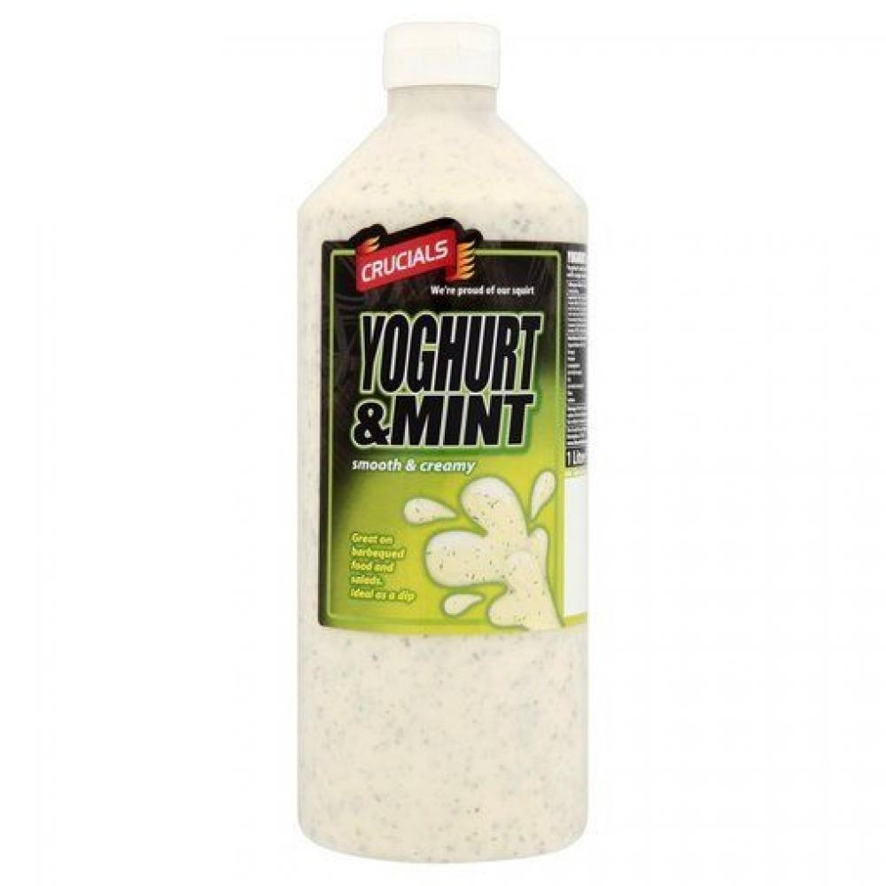 Crucials Yoghurt and Mint Sauce 1 litre