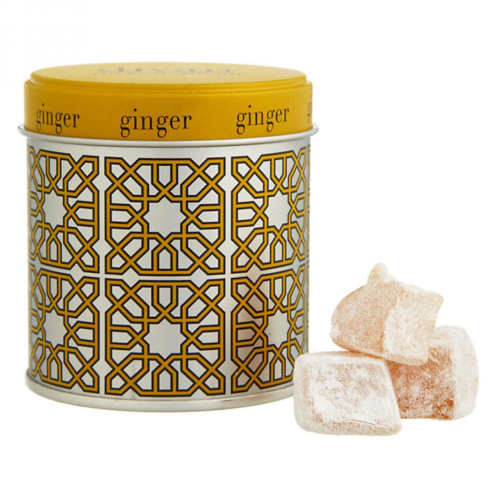 Divan ginger turkish delight 75g approved food for Divan turkish