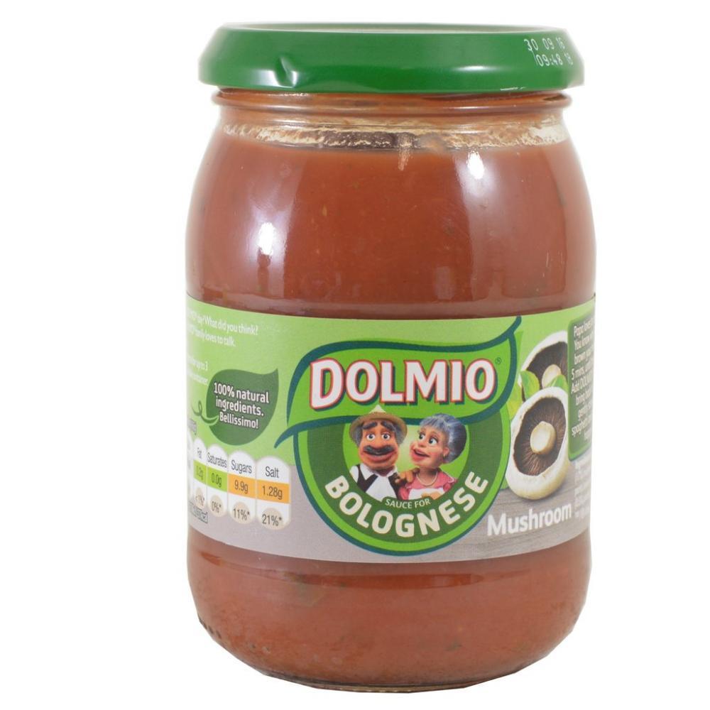 Dolmio Bolognese Sauce Xtra Mushroom 320g