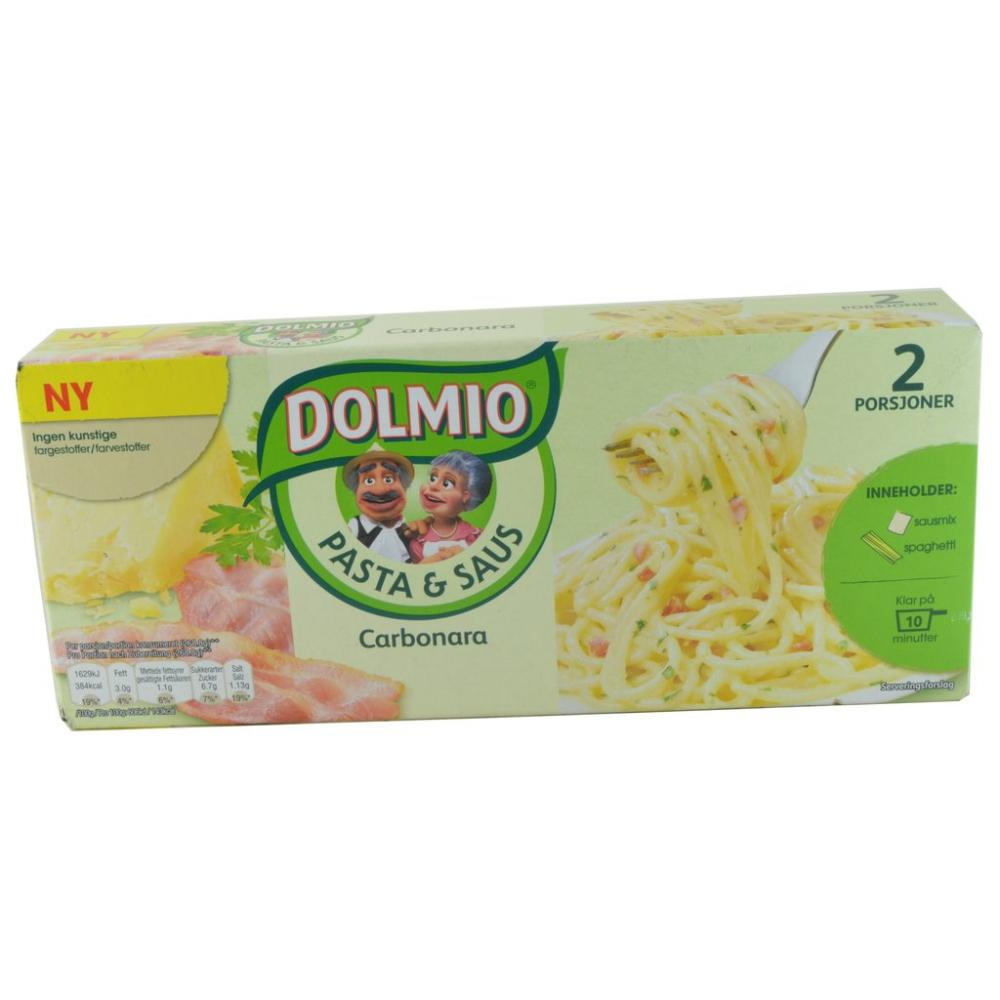 Dolmio Pasta And Sauce Kit Carbonara 215g