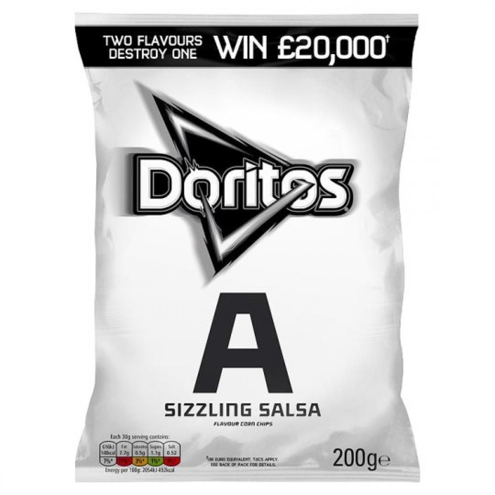 Doritos Sizzling Salsa 200g