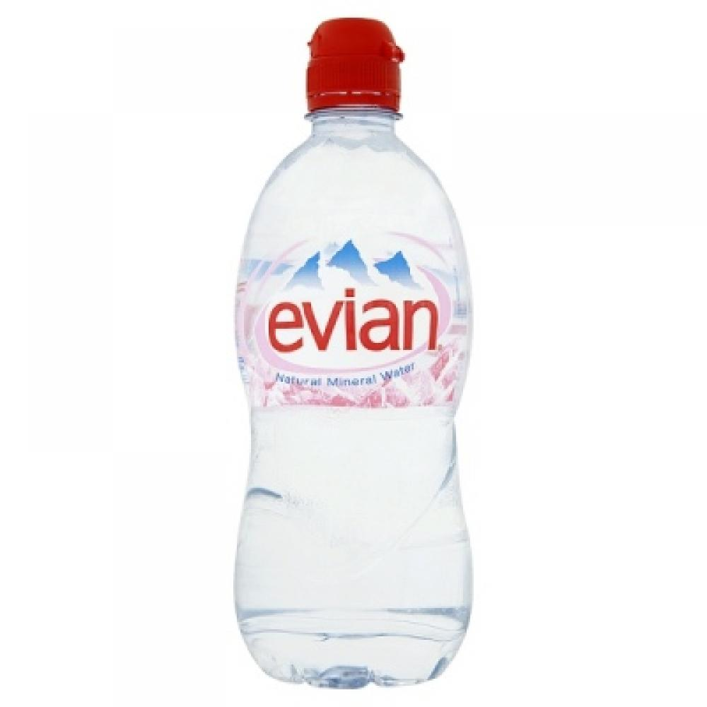 334e4f2f74 SPECIAL OFFER Evian Natural Mineral Water 750ml | Approved Food