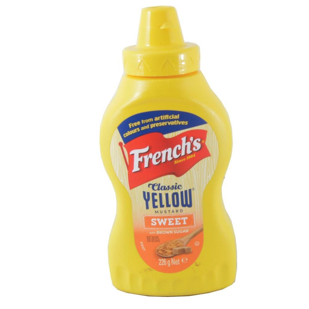 FURTHER REDUCTION  Frenchs Classic Yellow Mustard 225g