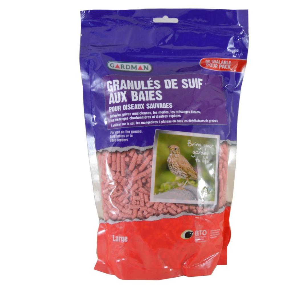 Gardman Berry Flavour Suet Treats For Wild Birds Large