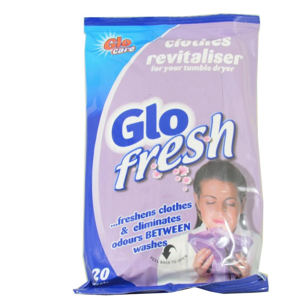 Glo Fresh Glo Fresh Clothes Revitaliser 20 Sheets