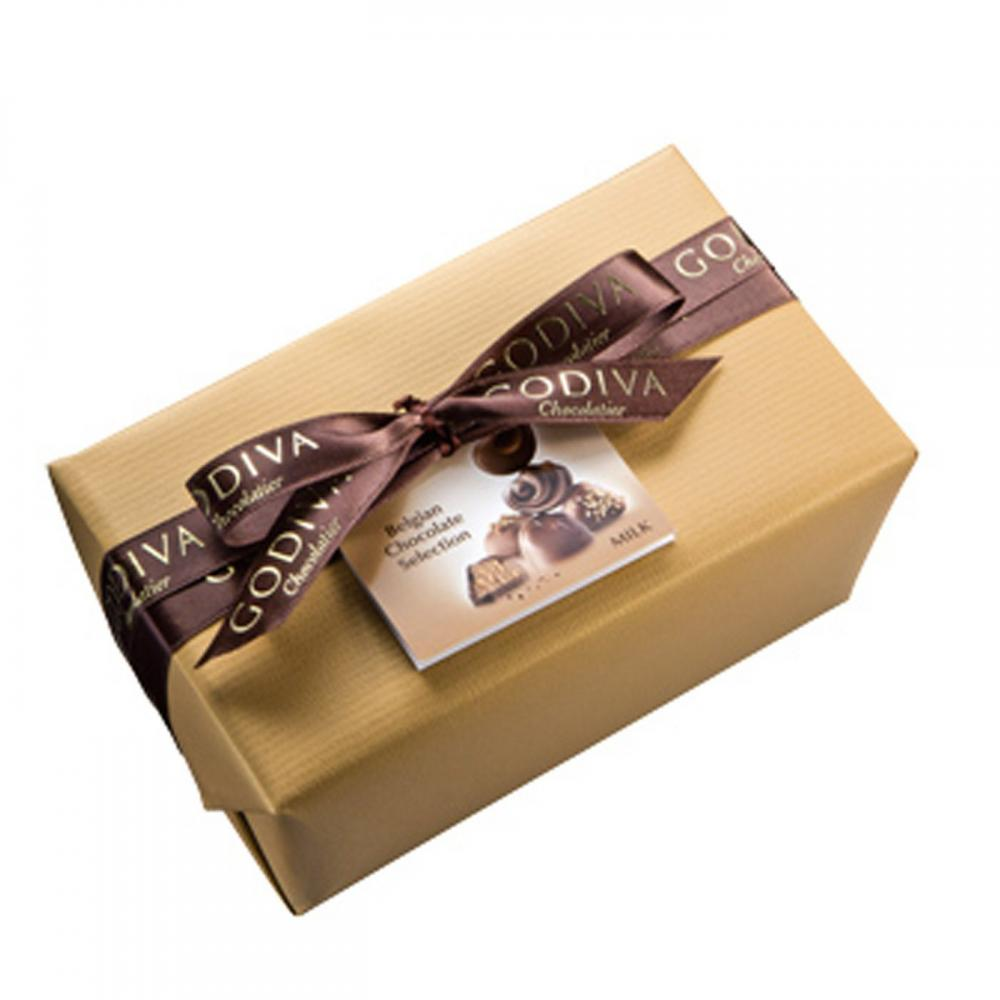 Godiva  Gold Wrapped Ball Ballotin 500g