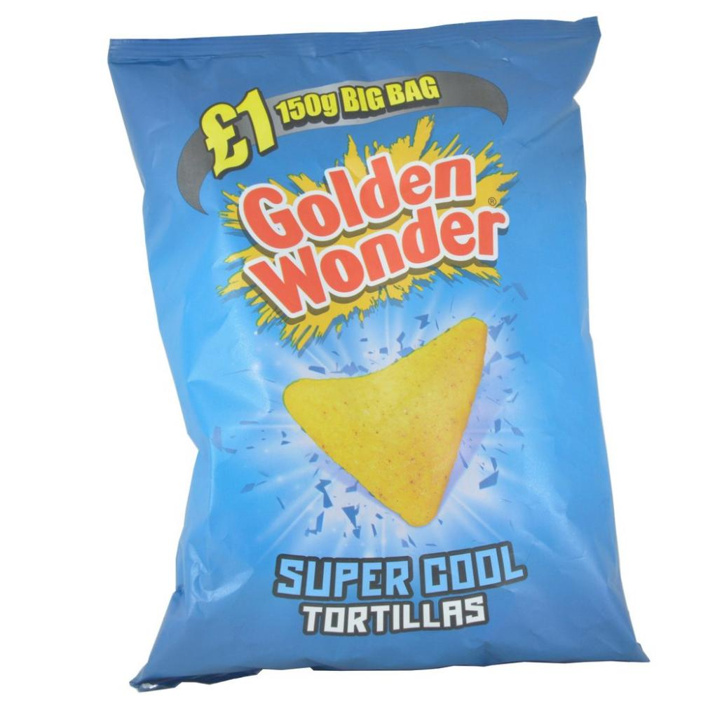 Golden Wonder Super Cool Tortillas 150g