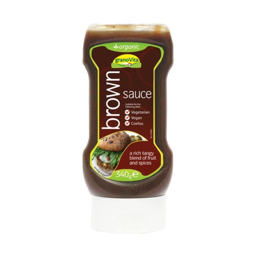 Granovita Organic Brown Sauce 340g