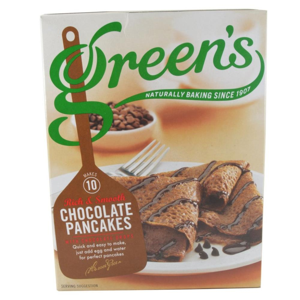 Greens Rich And Smooth Chocolate Pancakes 262g