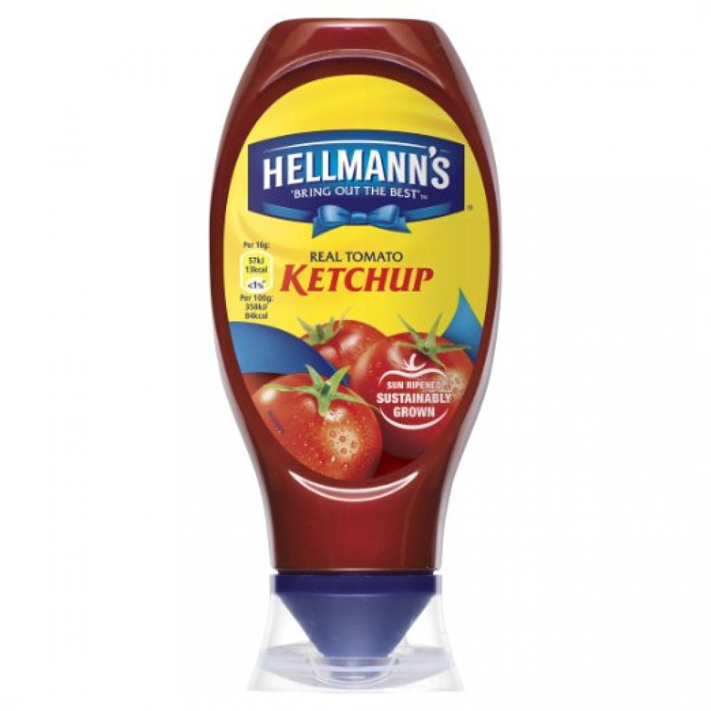 Hellmanns Tomato Ketchup 430ml