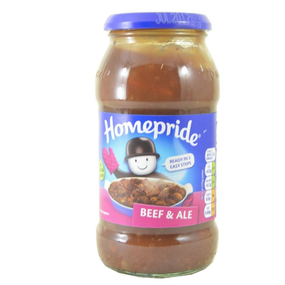 Homepride Beef And Ale Cooking Sauce 500g