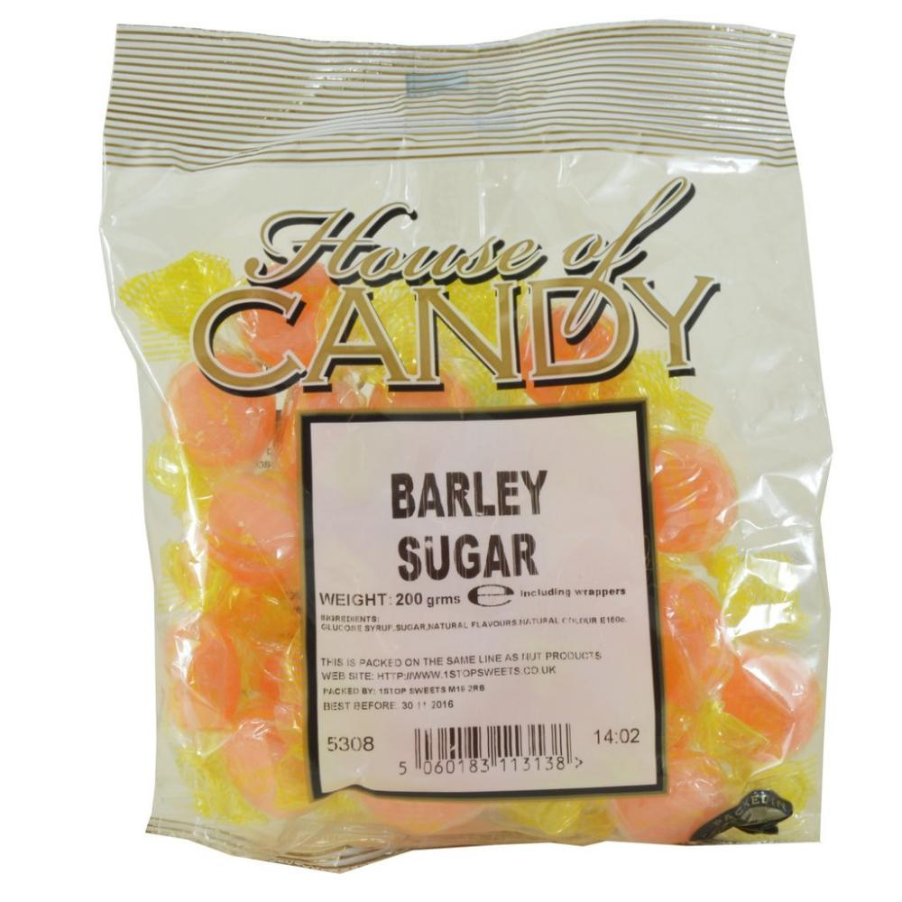 House Of Candy Barley Sugar 200g