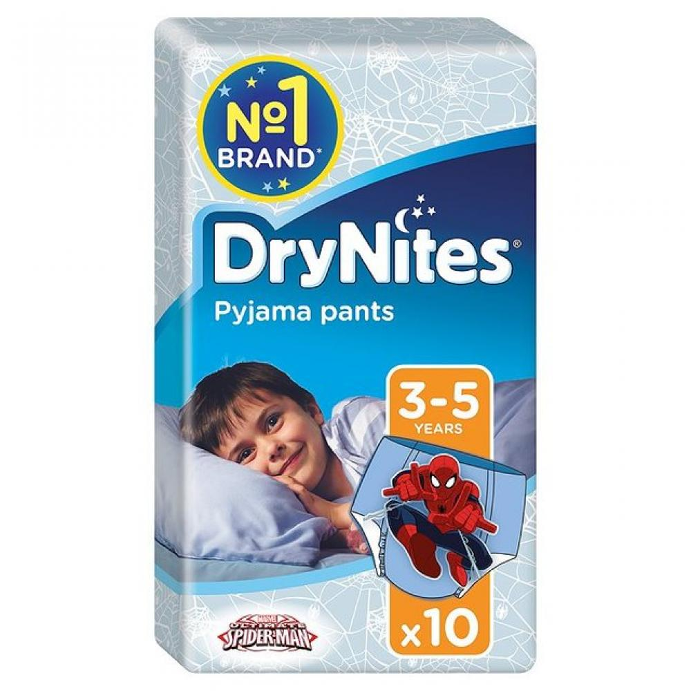 Huggies DryNites Boys Pyjama Pants 3 to 5 Years 10 Pants