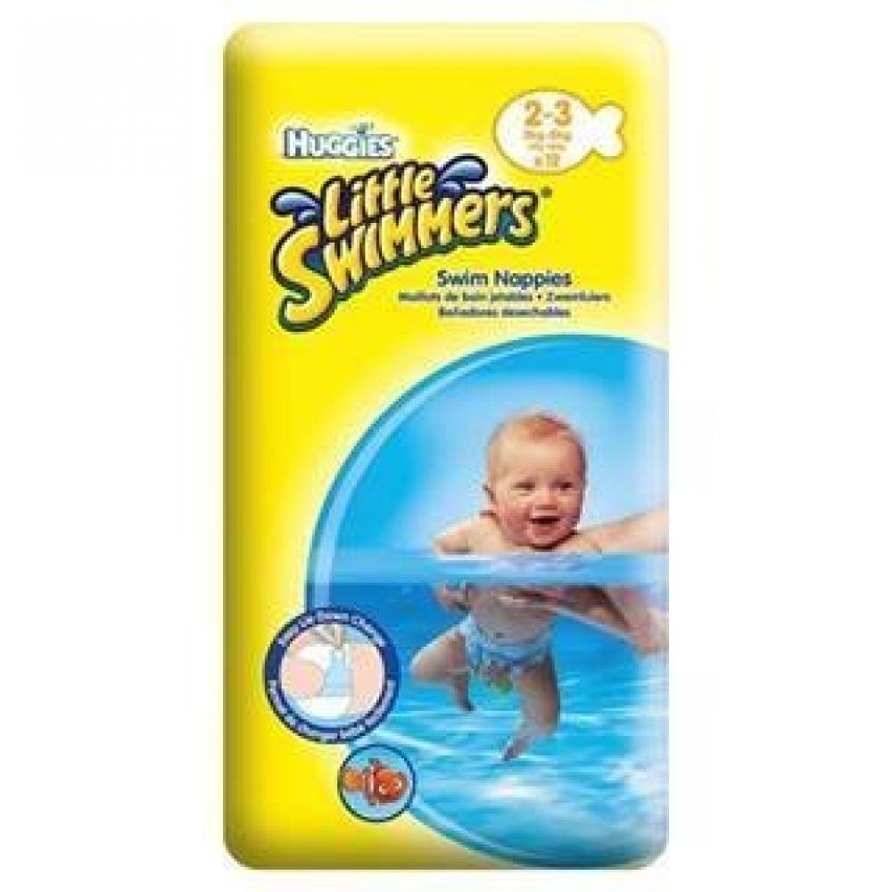 Huggies Little Swimmers Swim Nappies Size 2 3 Designs May Vary 12 Nappies