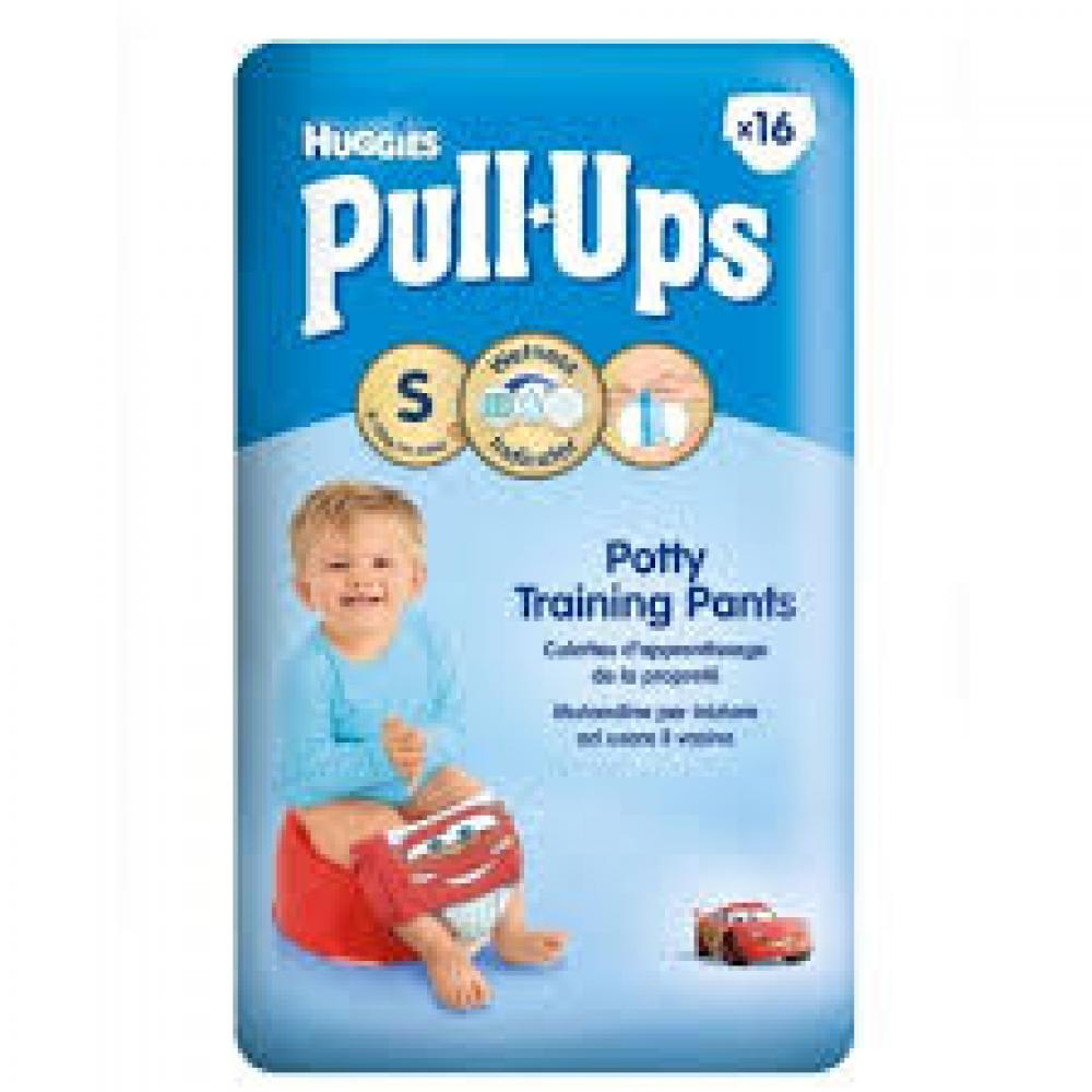 Huggies Pull Ups Learning Pants For Boys Small 16 Pack
