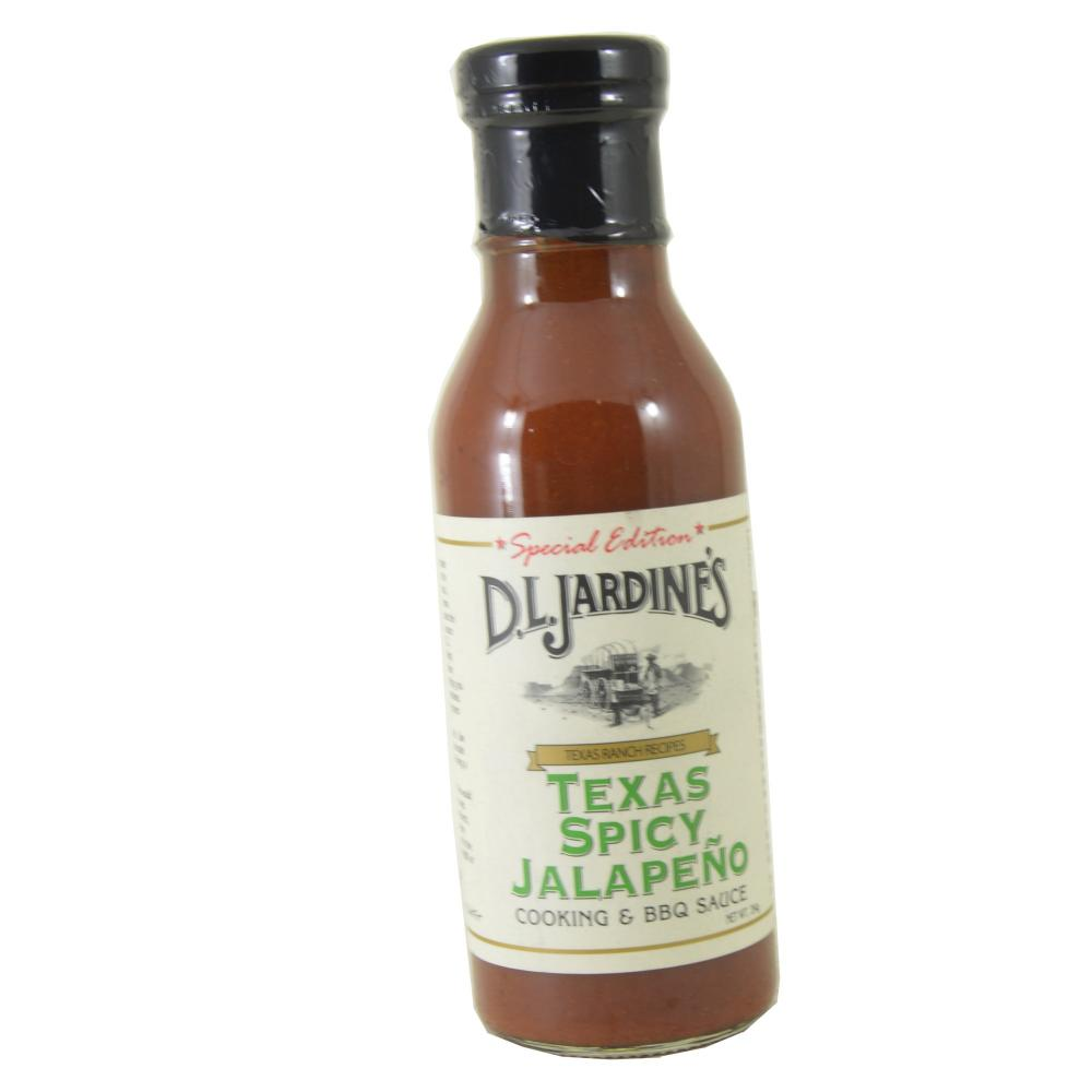 FURTHER REDUCTION  Jardines Texas Spicy Jalapeno Cooking and BBQ Sauce 354g