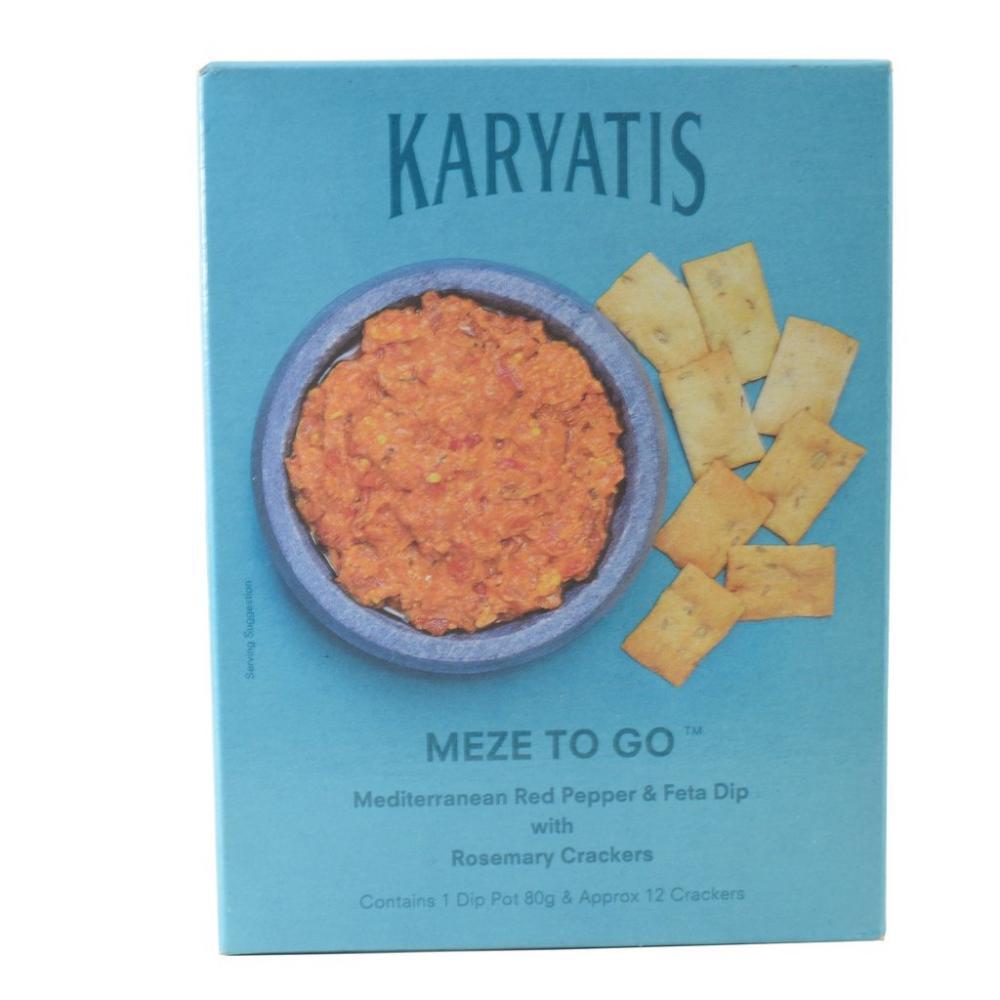 CLEARANCE  Karyatis Meze To Go 105g