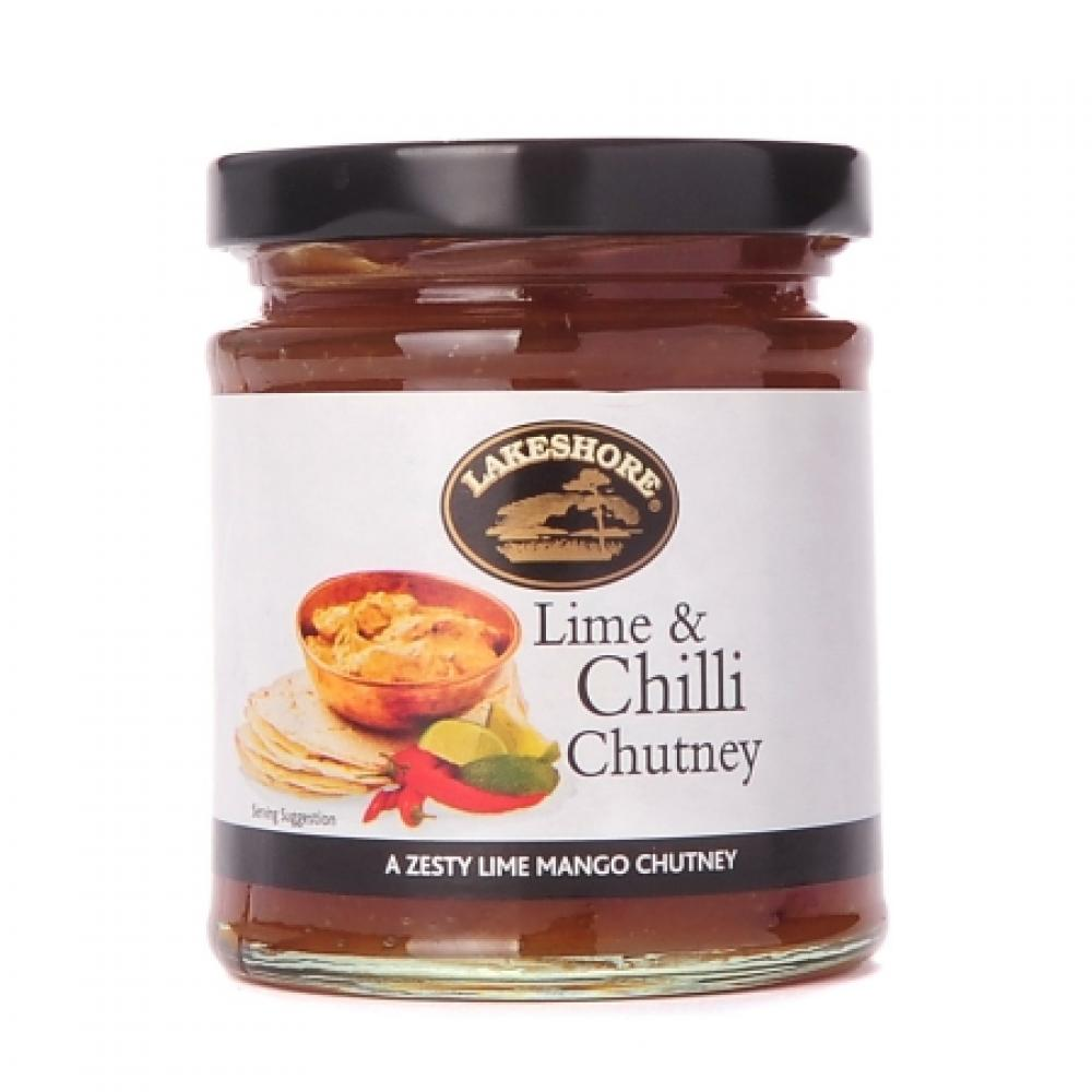 FURTHER REDUCTION  Lakeshore Lime and Chilli Chutney 230g