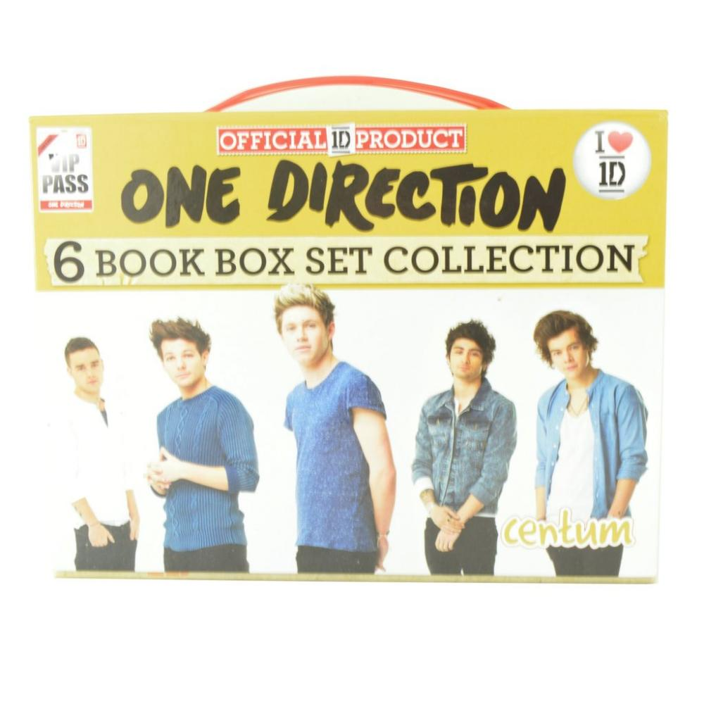 Limited Edition  One Direction 6 Book Box Set Collection