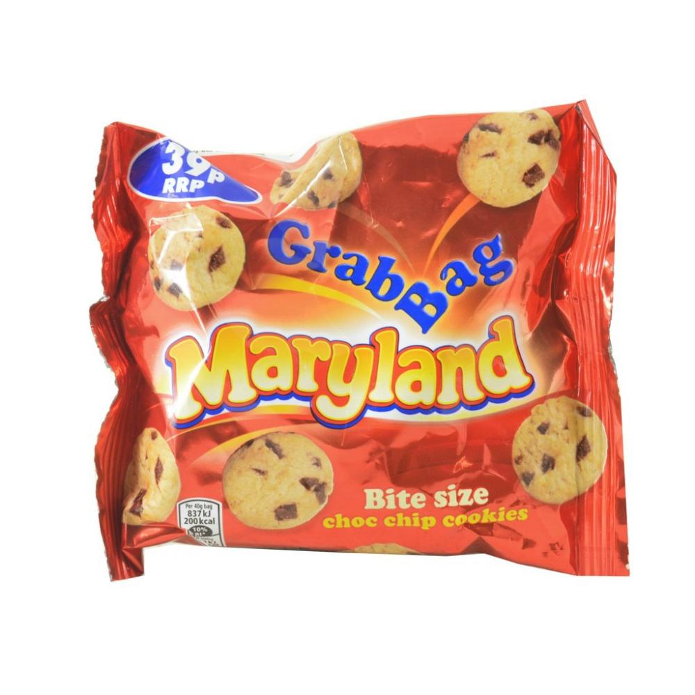 Maryland Grab Bag Bite Size Choc Chip Cookies 40g