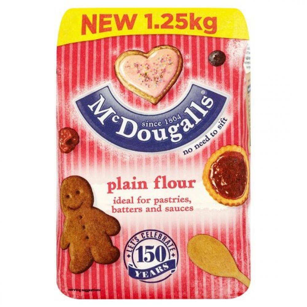 Mcdougalls Plain Flour 1250g